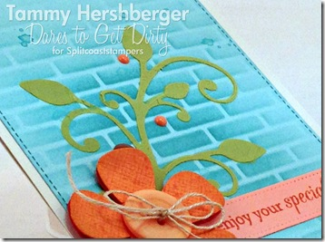 Stun with Stencils for Dare to Get Dirty by Tammy Hershberger (close-up)