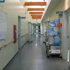 Corridor central de la partie nursing