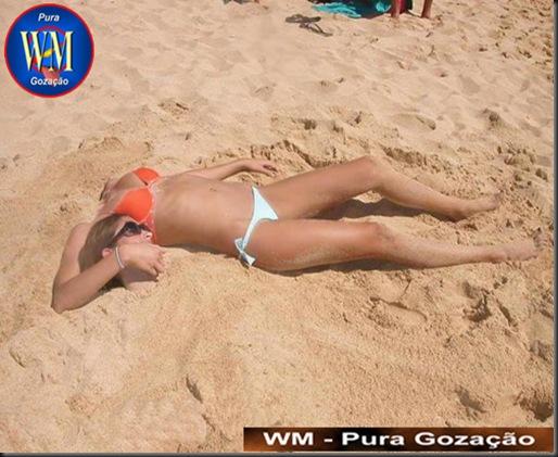 Denorex - Tem mulher que perde a cabeça só qdo esta na praia, semi nua