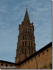 Campanario basílica de Saint Sernin - Toulouse