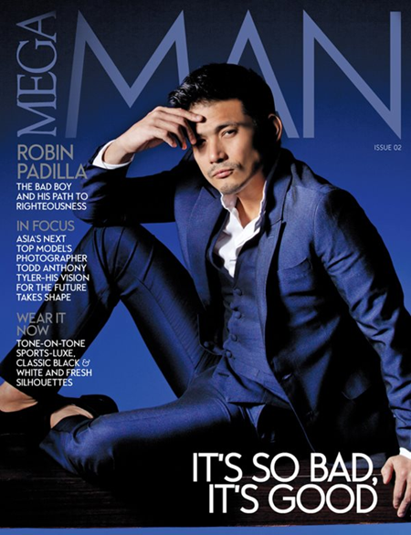 Robin Padilla covers Mega Man