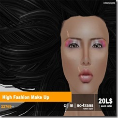 22769 ~ visage High Fashion Make Up - Copy