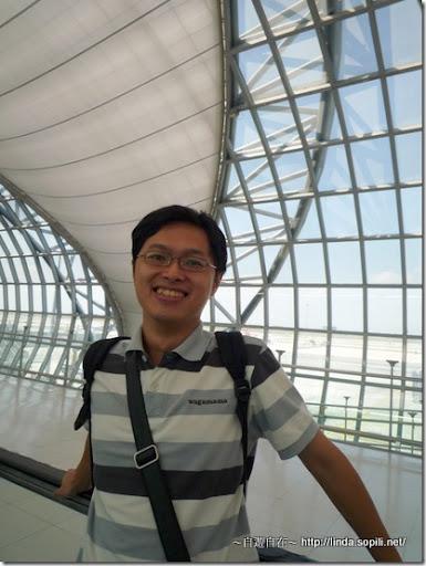 2009泰國曼谷機場-力仁