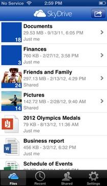 Descargar Skydrive 3.0 para iOS