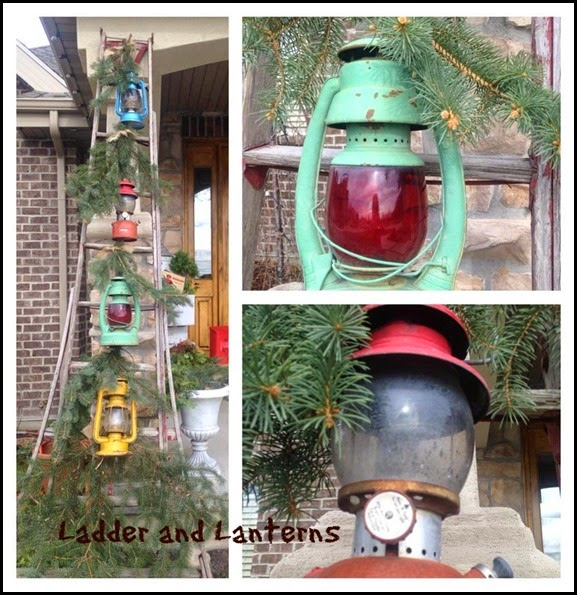 Ladder and Lanterns
