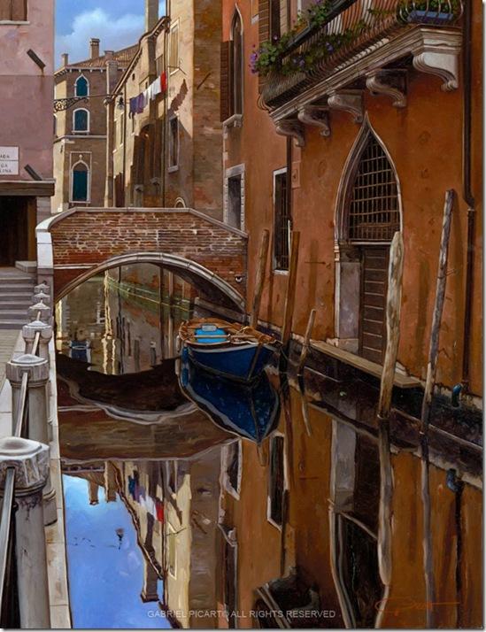 Blue Boat-Gabriel Picart