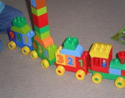 Miss B's train