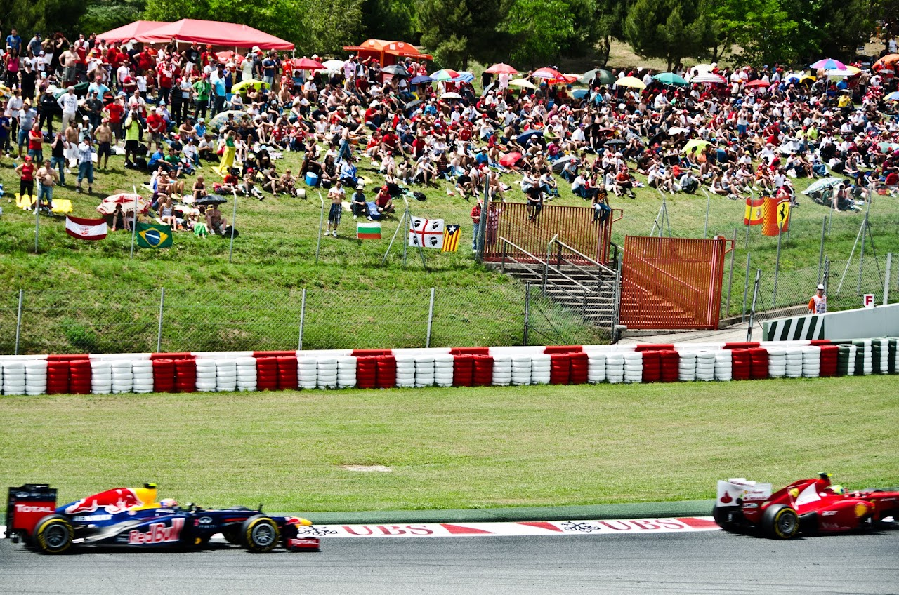 F1 at the Circuit de Catalunya