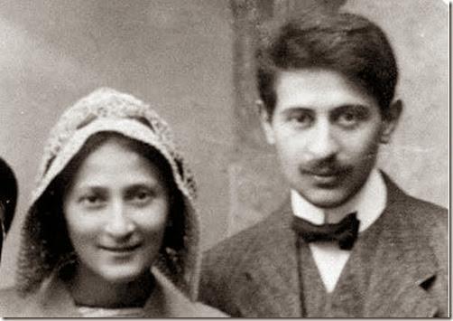 Isaak Rubin e la moglie
