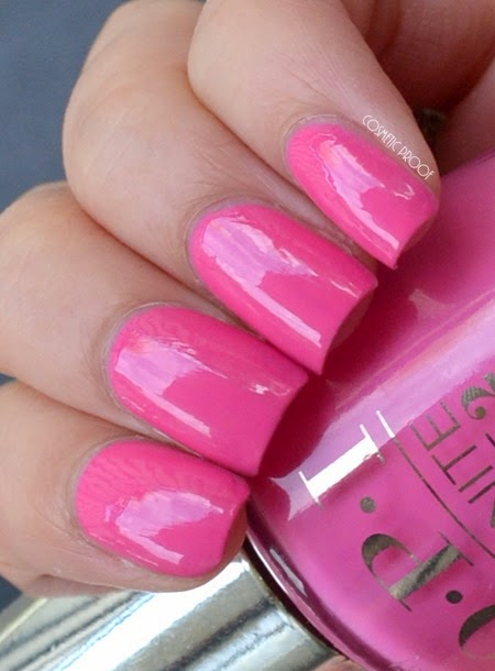 OPI Infinite Shine Girl Without Limits Swatch Review