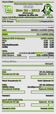 Conky per Linux Mint