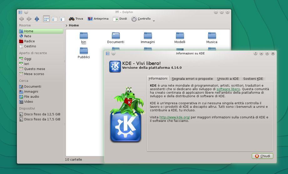 openSUSE KDE 4.14