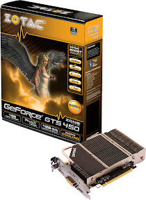 ZOTAC GeForce GTS 450 ZONE Edition