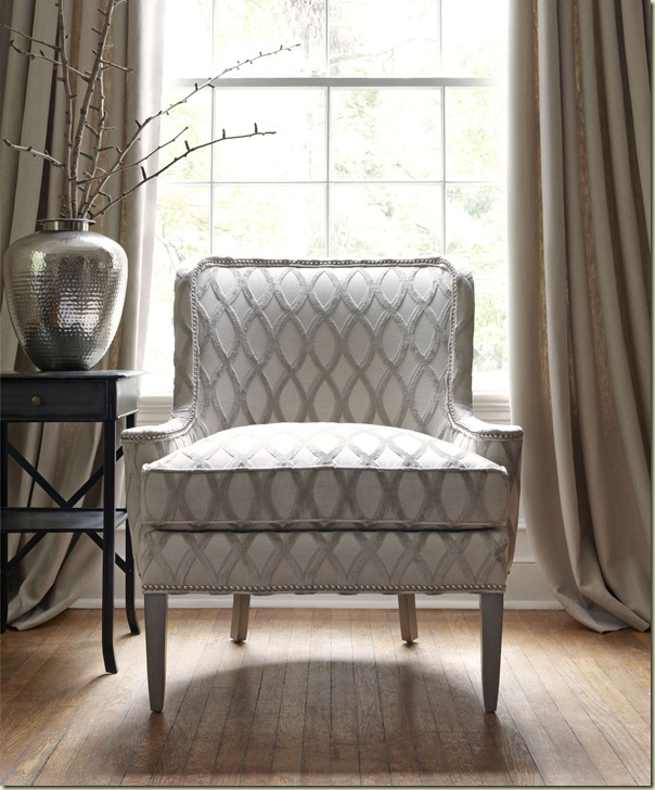 Montclair Chair - Helix Grey - 7715–C34 - Thibaut Fine Furniture