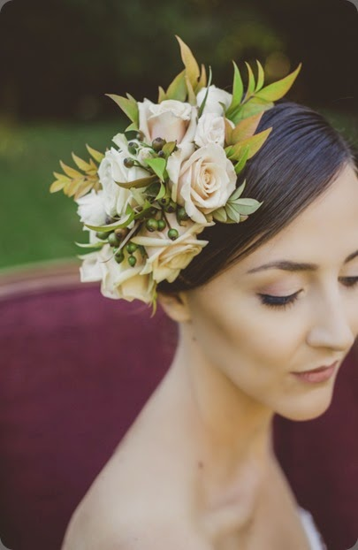 hair Romantic-Fall-wedding-ideas-8 ameris photo and clare day flowers