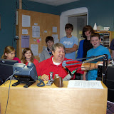 WBFJ - Station Tour - Homeschool Group - 4-10-12