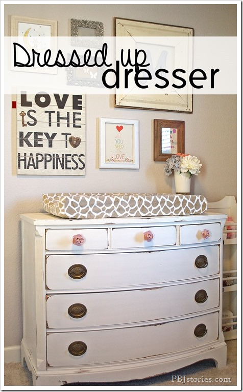 dressed up dresser