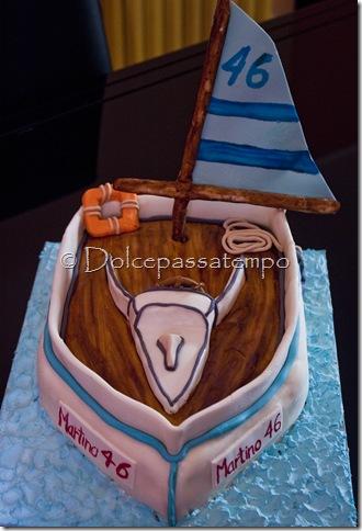 Torta Barca A Vela1