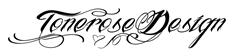 tonerose design underskrift