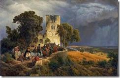 KROMMER - Carl Friedrich Lessing - Die Belagerung