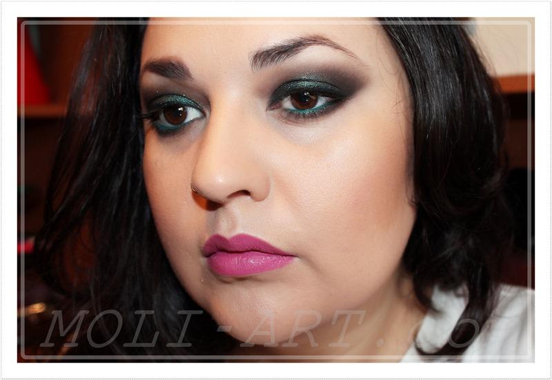 look-de-maquillaje-ojos-tonos-verdes