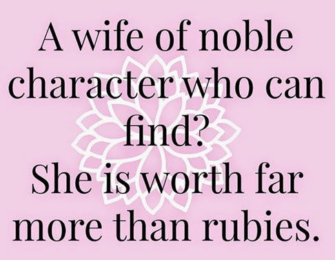 A wife of noble character[4]