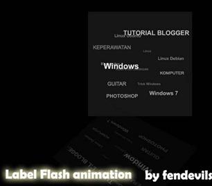 label flash