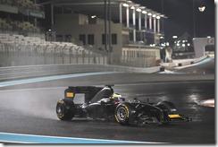 Il test della Pirelli ad Abu Dhabi