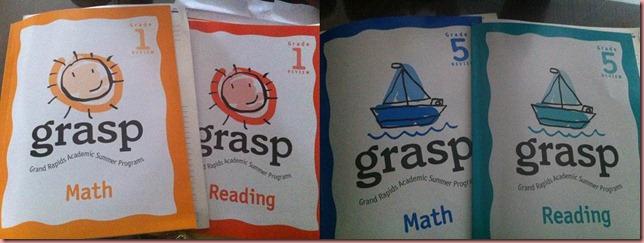 grasp books