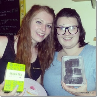 BethTinkerbell and Lucy Zirins - Tea and Cake Swap