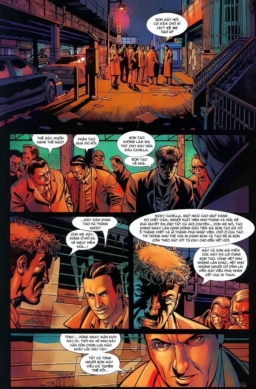 The Punisher: Trên là Dưới & Trắng là Đen chap 6 - Trang 10