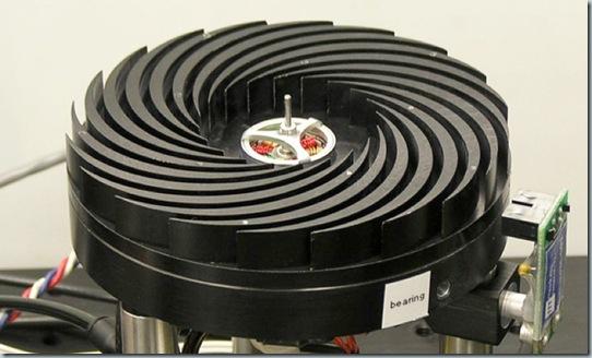 Spinning heatsink