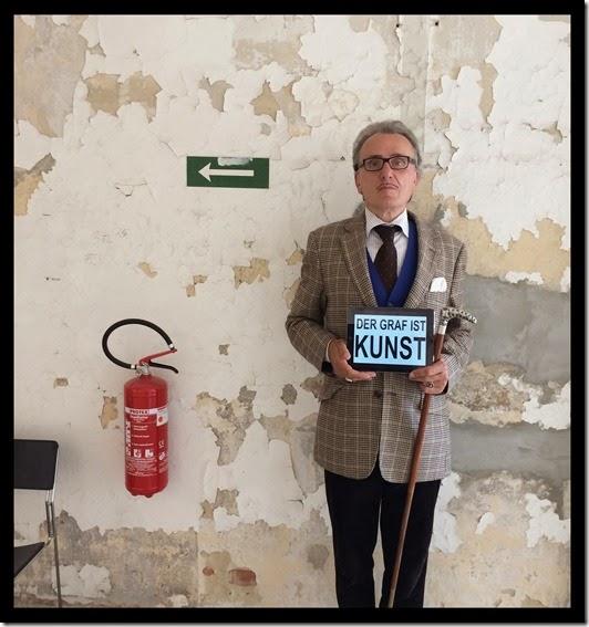 Graf von Blickensdorf ist Kunst Berlin Art Week