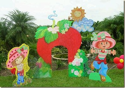 Decoracin de Jardines para Fiesta Infantil1