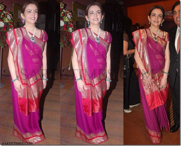 Nita_Ambani_Reverse_Drape_Saree