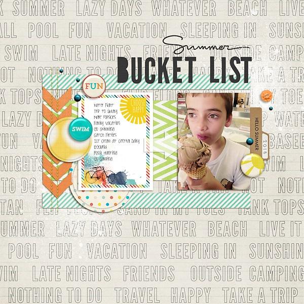 SummerBucketList2013