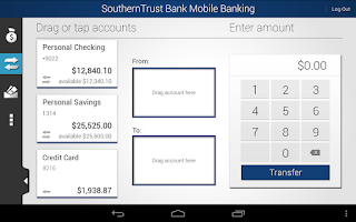 Screenshot of SouthernTrust Bank Mobile