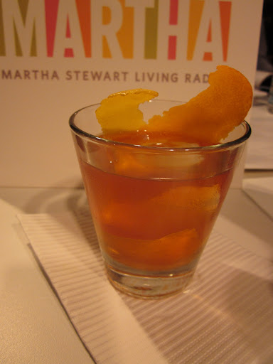 A fantastic Old Fashioned fashioned by Richard Boccato of Dutch Kills.