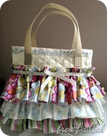 Ruffled Scripture Bag