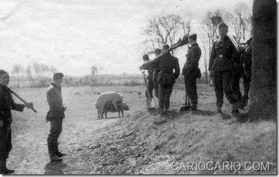 Fotos engraçadas da Segunda Guerra Mundial (8)