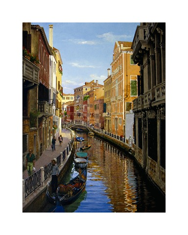 bob hughes venice painting