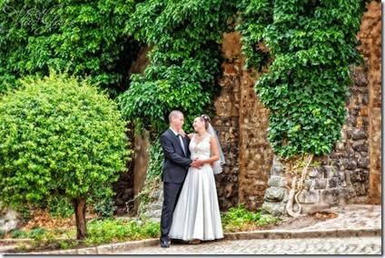 Фотографии свадьба в замке в Праге и замке Брандис
