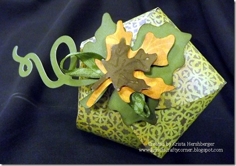 Leaf box from Artiste using Moonlight