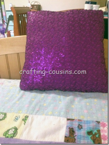 Sparkle Pillow from Shirt (1)