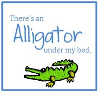 Alligator under my bed box