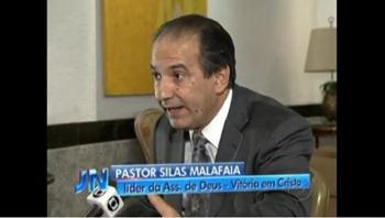 silas malafaia entrevista rede globo jornal nacional - priscila e maxwell palheta