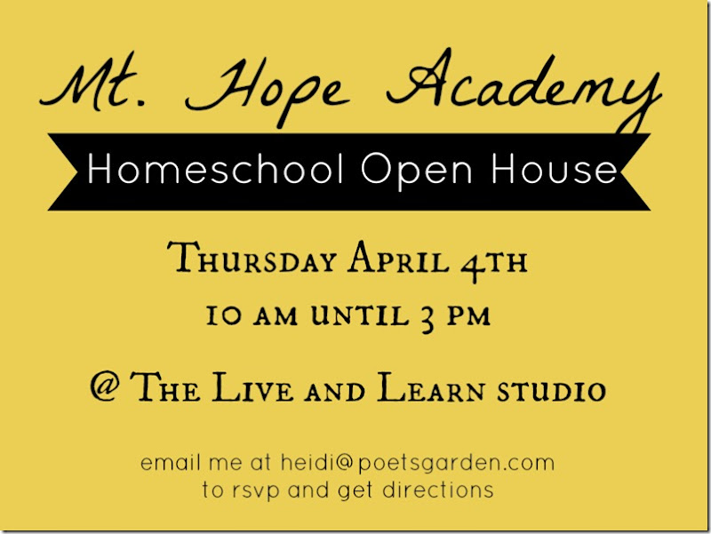Mt. Hope Academy Open House 1