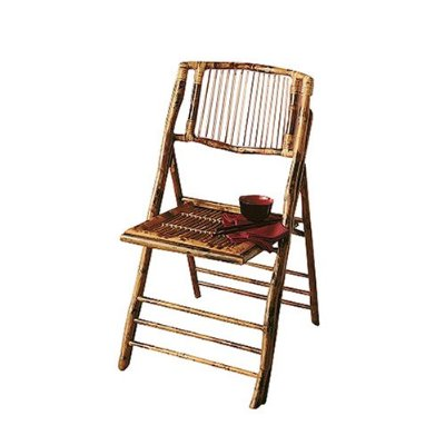 This Target Bamboo Folding Chair has a elegant look, unlike plastic folding chairs.