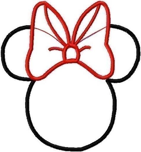 Moldes de invitaciónes de Minnie para imprimir - Imagui