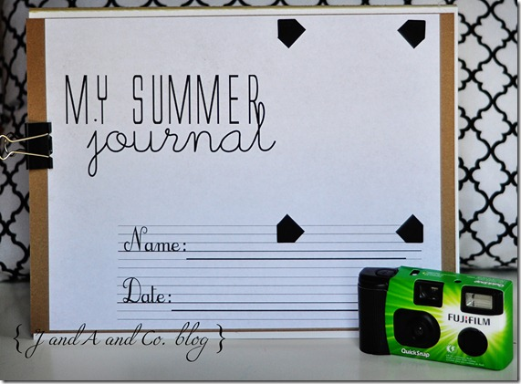 Summer journal cr